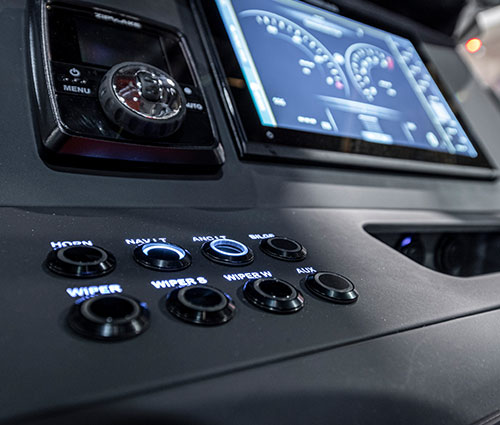 State of the art Helm Control Panel